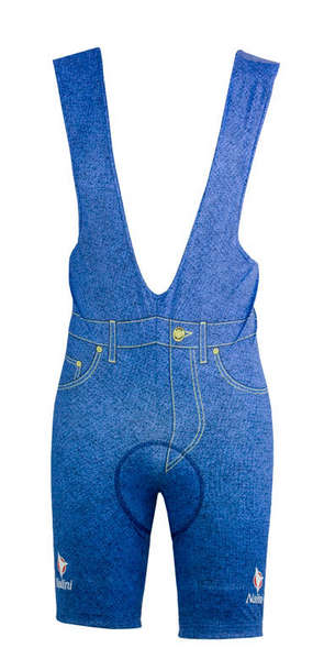 Carrera Blue Jeans Cycling Bib Shorts picture