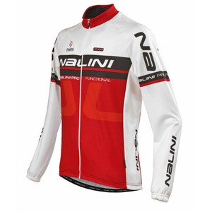 Sale - Nalini Ti Long Sleeve Jersey - Red picture