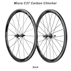2018 URSUS Miura C37 Carbon Clincher Road Wheelset (Dark) picture