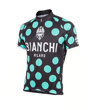 Bianchi-Milano Pride Black/Celeste Polka Dot SS Jersey picture