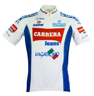 Carrera Team White Cycling Jersey - Short Sleeve picture