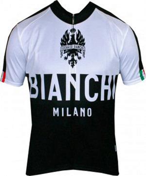 Bianchi-Milano Nalon Black/White SS Jersey picture
