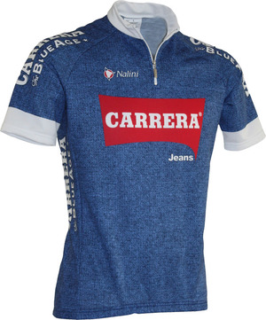 Carrera Team Blue Cycling Jersey - SS picture