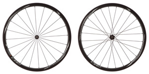 2016 4ZA Cirrus Pro T30 Tubular Wheelset - Black/White picture