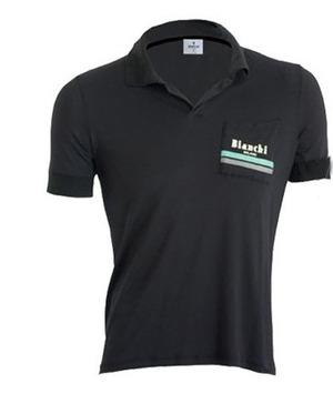Bianchi-Milano Taizan Black Polo Shirt - Sale picture