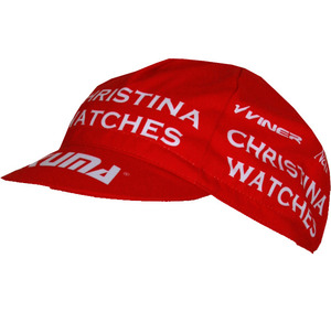Sale - Christina Watches KUMA Red Cycling Cap picture