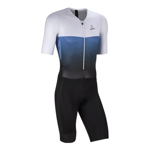 Nalini XBLACK BODY Skinsuit - Blue/White picture