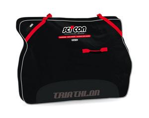 Scicon Travel Basic Plus Triathlon Black Bicycle Bag picture
