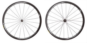 2016 4ZA Cirrus Pro C30 Clincher Wheelset - Black/White picture