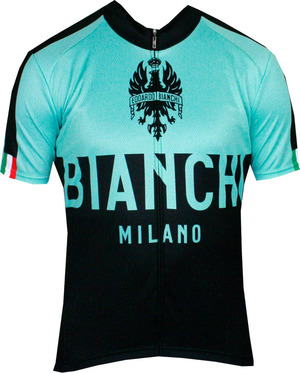 Bianchi-Milano Nalon Classic/Black SS Jersey picture