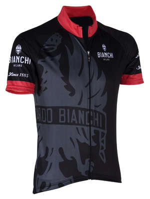 Bianchi-Milano Cinca Black/Red SS Jersey picture