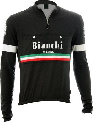 Bianchi-Milano Hiten Black LS Jersey picture