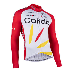 COFIDIS Team Long Sleeve Cycling Jersey picture