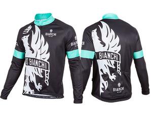 Bianchi-Milano Sorisole LS Jersey - Black/White picture