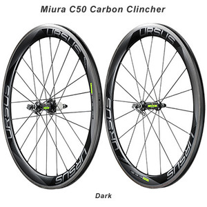 URSUS Miura C50 Carbon Clincher Road Wheelset picture