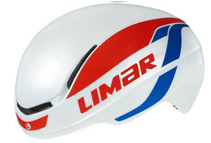 LIMAR 007 SuperLight Helmet - White/Red/Blue picture