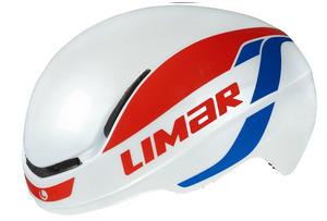 LIMAR 007 SuperLight Helmet - White/Red/Blue picture