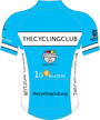 The Cycling Club Blue SS Cycling Jersey - Lagusello2 additional picture 1