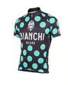 Bianchi-Milano Pride Black/Celeste Polka Dot SS Jersey