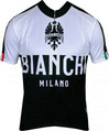 Bianchi-Milano Nalon Black/White SS Jersey