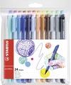 STABILO pointMAX premium fineliner - wallet of 24 colours