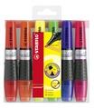 STABILO LUMINATOR highlighter - wallet of 6 colours