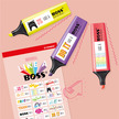 STABILO BOSS Original + Pastel with Stickers - Set of 8 assorted colours additional picture 5