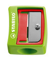STABILO woody 3 in 1 wide barrel safety sharpener