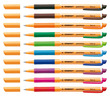 STABILO pointVisco rollerball with pioneering gel technology - wallet of 10 colours (all colours) additional picture 1
