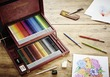 STABILO CarbOthello chalk-pastel coloured pencil wooden box of 60 colours additional picture 1