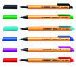 STABILO GREENpoint fibre-tip pen - wallet of 6 colours additional picture 1