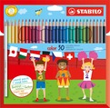 STABILO color, coloured pencil, cardboard wallet of 30 colours