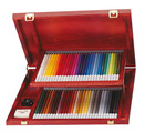STABILO CarbOthello chalk-pastel coloured pencil wooden box of 60 colours