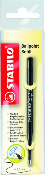 STABILO Ballpoint Refill medium 0.5mm - black picture