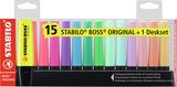 STABILO BOSS ORIGINAL Desk Set 15pc