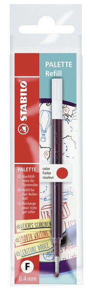 STABILO PALETTE refill, 1pc red in ECO-Pack picture