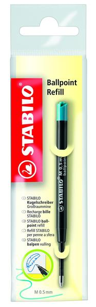 STABILO Ballpoint Refill medium 0.5mm - turquoise picture