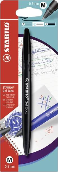 STABILO Gel Exxx erasable - blistercard black picture