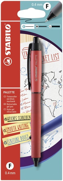 STABILO PALETTE Blistercard - red picture