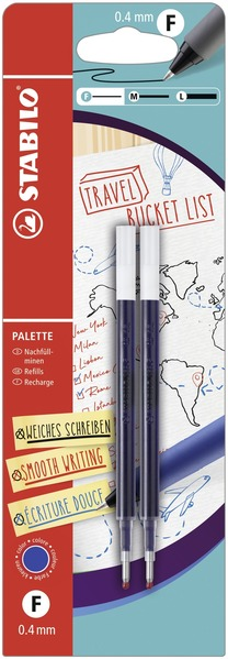 STABILO PALETTE Blistercard refill, 2pc blue picture