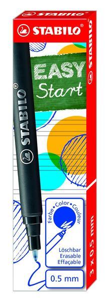 STABILO EASYoriginal 3 refills medium - blue picture