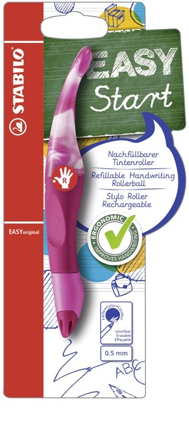 STABILO EASYoriginal Marbled Colors Edition ergonomic rollerball right handed - berry picture