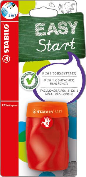 STABILO EASYsharpener right handed - blistercard orange picture