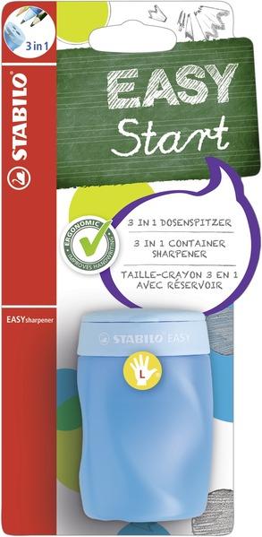 STABILO EASYsharpener left handed - blistercard blue picture