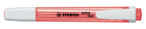 STABILO swing cool highlighter single - red picture