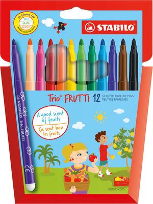 STABILO TRIO Frutti Wallet of 12 picture