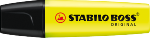 STABILO BOSS ORIGINAL highlighter single - yellow picture