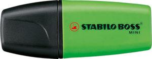 STABILO BOSS MINI highlighter single - green picture
