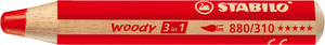 STABILO woody 3 in 1 multi-talented pencil single - red picture