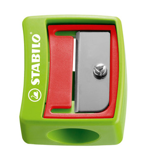 STABILO woody 3 in 1 wide barrel safety sharpener picture